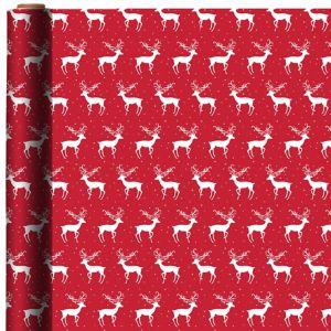 Reindeer & Star Gift Wrap