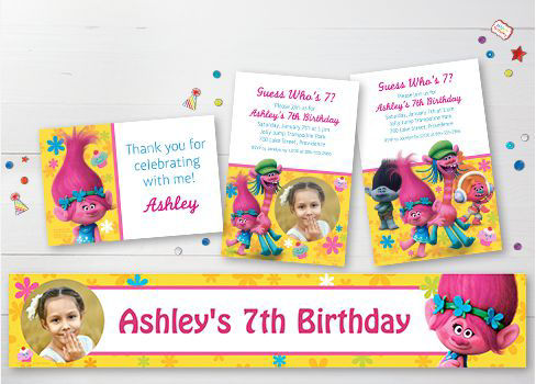 Custom Birthday Invitations & Banners