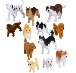 Dog Breed Playset 12pc