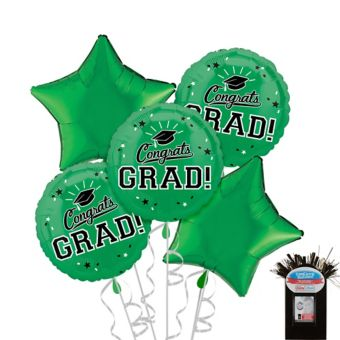 Green Graduation Balloon Kit