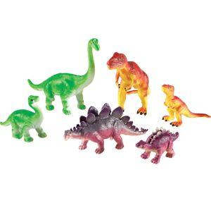 Jumbo Dinosaurs Mommas and Babies Playset 6ct