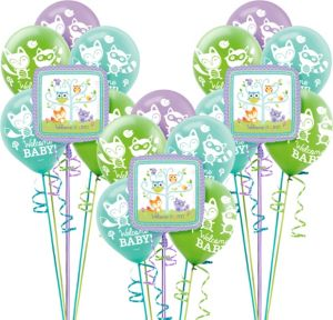Woodland Baby Shower Balloon Kit