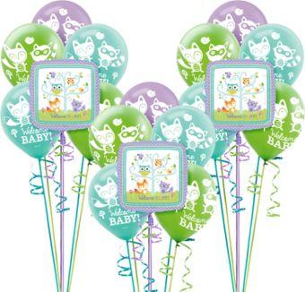 Woodland Baby Shower Balloon Kit 18ct