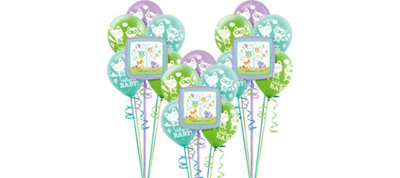Woodland Baby Shower Balloon Kit 18ct