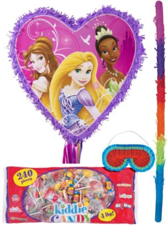 Disney Princess Heart Pinata Kit