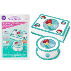 Wilton Little Mermaid Sugar Sheet