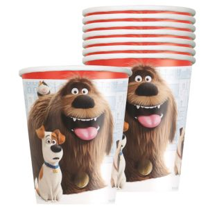 The Secret Life of Pets Cups 8ct