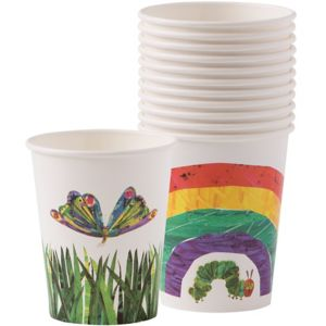The Very Hungry Caterpillar Paper Cups 12ct