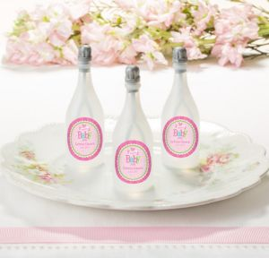 Personalized Baby Bubbles (Printed Label) (Welcome Baby Girl)