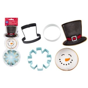 Snowman Cookie Cutters 3ct