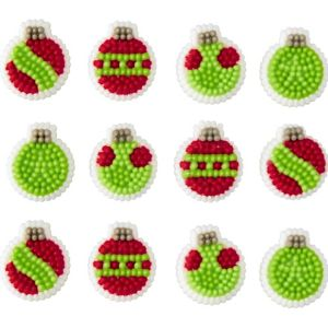 Ornament Icing Decorations 24ct