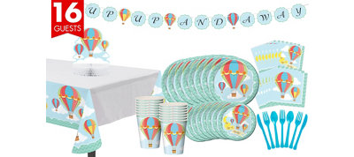 Baby Up & Away Tableware Kit 16 Guests