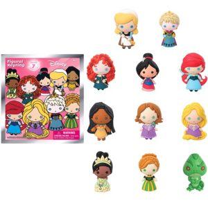 Disney Princess Keychain Series 7 Mystery Pack