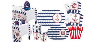 Nautical Deluxe Party Kit