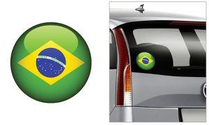 Brazilian Flag Decal