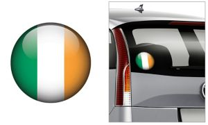 Irish Flag Decal