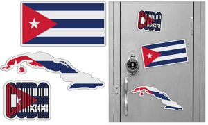 Cuban Magnets 3pc