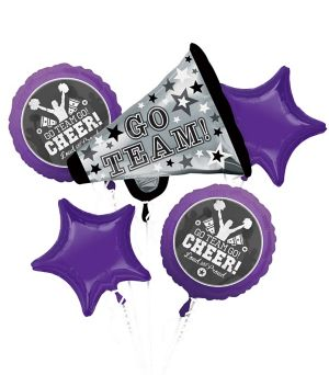 Cheer Balloon Bouquet 5pc