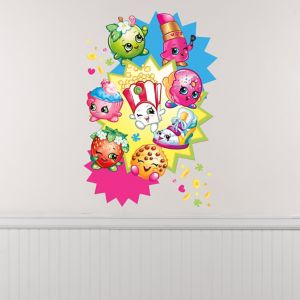 Giant Starburst Shopkins Wall Decal