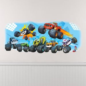 Giant Blaze and the Monster Machines Wall Decal