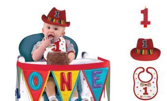 Rainbow 1st Birthday Smash Cake Kit