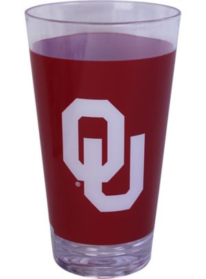 Oklahoma Sooners Double Wall Tumbler with Straw