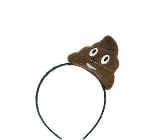 Poop Icon Headband