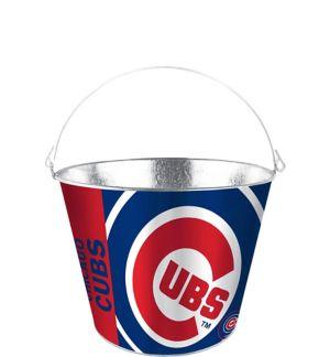Chicago Cubs Galvanized Bucket
