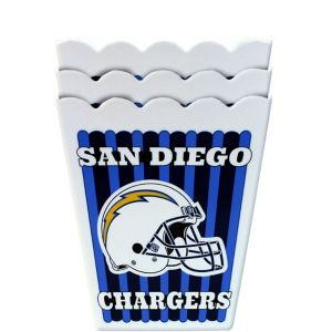 San Diego Chargers Popcorn Boxes 3ct