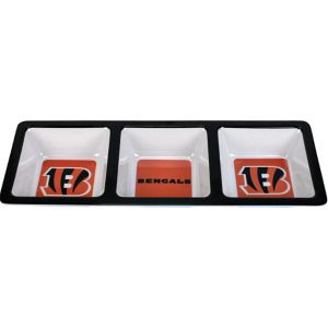 Cincinnati Bengals Divided Snack Tray