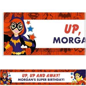 Custom DC Super Hero Girls Banner