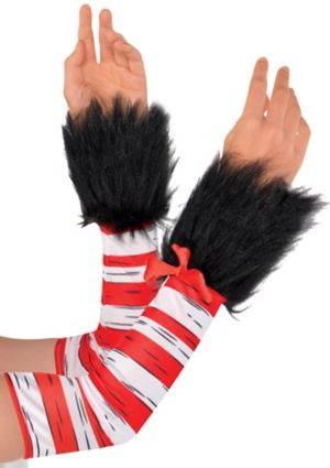 Womens Cat in the Hat Arm Warmers - Dr. Seuss