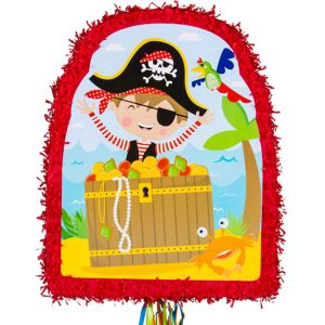 Pull String Little Pirate Pinata