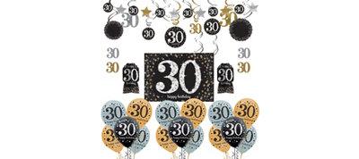 Sparkling Celebration 30th Birthday Balloon Kit