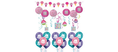 Pastel Birthday Sweets Balloon Kit