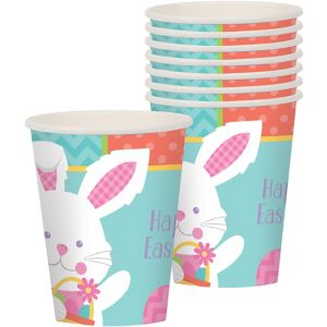 Hippity Hop Easter Bunny Cups 8ct