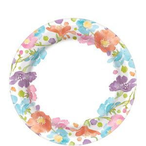 Spring Has Sprung Floral Dessert Plates 40ct