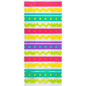 Spring Dot & Chevron Treat Bags 20ct