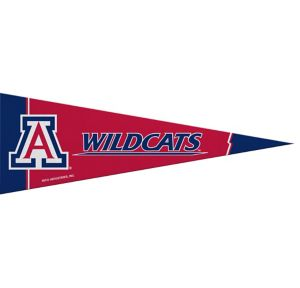 Small Arizona Wildcats Pennant Flag