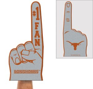 Texas Longhorns Foam Finger