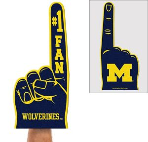 Michigan Wolverines Foam Finger