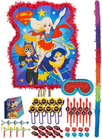DC Super Hero Girls Pinata Kit with Favors