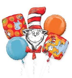 Dr. Seuss Balloon Bouquet 5pc
