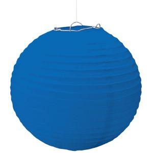 Large Royal Blue Paper Lantern