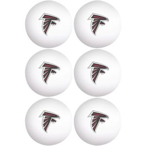 Atlanta Falcons Pong Balls 6ct