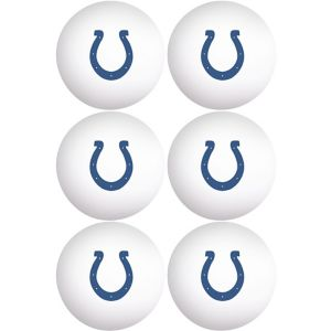 Indianapolis Colts Pong Balls 6ct