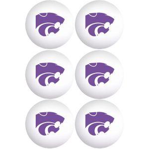 Kansas State Wildcats Pong Balls 6ct