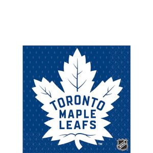 Toronto Maple Leafs Beverage Napkins 16ct