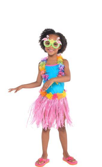 Child Luau Costume Accessory Kit