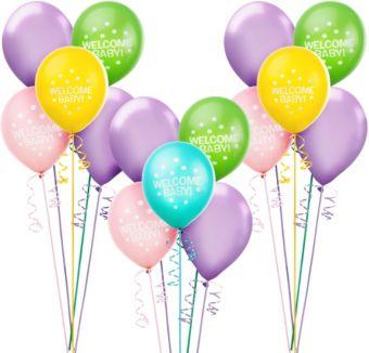 Pastel Baby Shower Balloon Kit 30ct
